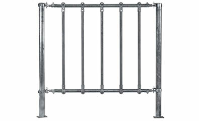 One safe horse fence panel