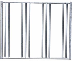 One welded safe horse fence panel