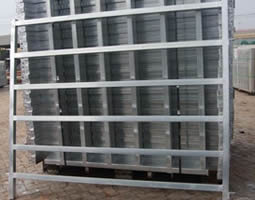6 rails galvanized horse fence panel in stock